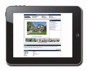ipad with property search